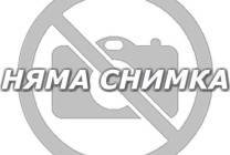 Табуретка Homa 207 - мат бял + черен шев Homa
