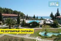 Нощувка на база HB,AI в Simantro Beach Hotel 5*, Сани, Халкидики