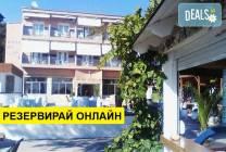 Нощувка на база BB,HB в Kapahi Beach Hotel 2*, Пефкари, о. Тасос