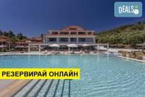 Нощувка на база HB в Lagomandra Beach Hotel 4*, Неос Мармарас,