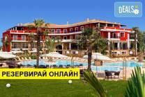 Нощувка на база HB в Mediterranean Princess Hotel 4*, Паралия