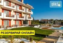 Нощувка на база BB в Lagaria Palace Hotel 2*, Афитос, Халкидики