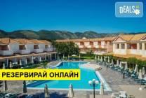 Нощувка на база BB,HB в Ecoresort Zefyros Hotel 2*, Агиос Кирикос, о.