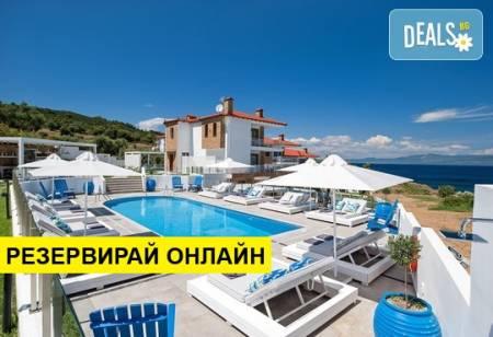 Нощувка на база BB в Villa D'Oro - Luxury Villas & Suites, Палюри,