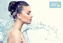 Дълбоко хидратираща терапия с италианска козметика Dr. Lauranne от