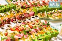 100 вкусни и апетитни коктейлни хапки от H&D catering