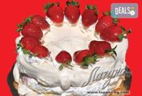 Целувчена торта от сладкарница Лагуна