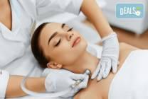 Комбинирано почистване на лице и лечебен масаж в V&A Glamour Beauty