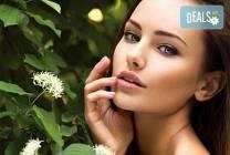 Почистване на лице и терапия с био козметика на Dr. Spiller,