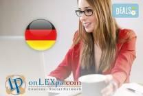 Курс по немски език на ниво А1 и А2 и/или В1 от onlexpa.com