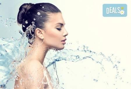 Хидратираща терапия с италианска козметика Dr. Lauranne и масаж от