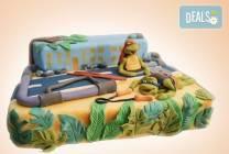 Голяма детска торта Макуин, Калинка или с други 3D герои от Джорджо