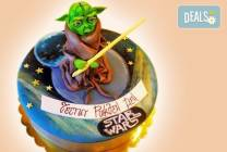 Детска 3D торта за момче с коли и герои от Сладкарница Джорджо Джани