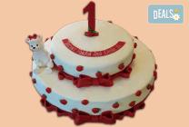 Торти за новородено, за 1-ви рожден ден и за прощъпулник от Джорджо