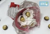 Романтичен шоколадов букет