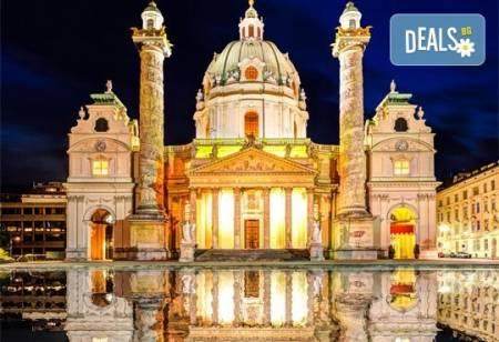 Великден в Будапеща и Виена : 3 нощувки и закуски, транспорт и