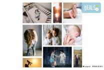 Фотоколаж с дизайн, размер и брой снимки по избор на клиента от