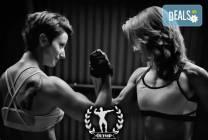 60-минутна фитнес тренировка с инструктор във фитнес Олимп