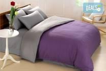 Ранфорс двулицево спално бельо в цвят и размери по избор от Спално