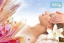 Чакра масаж на цяло тяло с кристали в Спа център Senses Massage &
