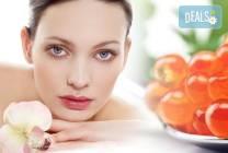 Луксозна терапия за лице и шия с натурален хайвер в 9 стъпки в център