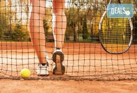 1 индивидуален урок по тенис на корт с треньор в Тенис клуб Acers,
