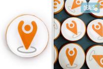 За фирми! Бутикови бисквити с лого или снимка от Muffin House
