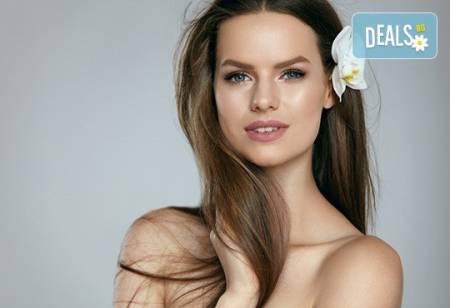 Подстригване, измиване, кератинов терапия с Brave new hair и оформяне