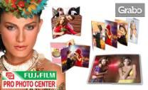 Луксозна фотокнига с 16, 20 или 32 страници от фотохартия FUJIFILM,