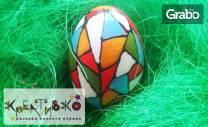 Великденска арт работилничка за рисуване и декорация на дървени яйца