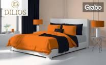 Единичен, двоен или макси спален комплект от Ранфорс 100% памук -