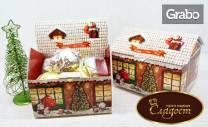 800гр Коледни сладости с белгийски шоколад