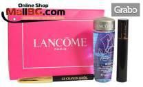 Козметичен комплект Lancome - спирала, молив за очи и лосион за