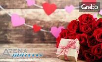 За Свети Валентин на Златни пясъци! Нощувка със закуска и празнична