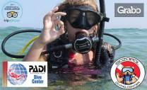 VIP пробно гмуркане за начинаещи с екипировка, инструктор и снимки